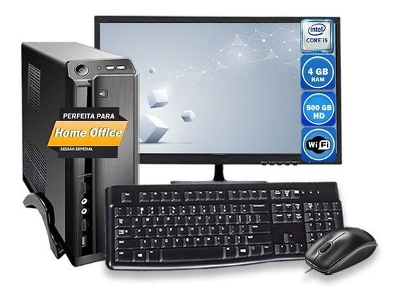 Computador Completo Slim Intel Core I5 4gb Hd 500gb 220v