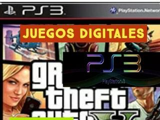 Juegos Digitales Para Playstation 3, Somos Tienda Fisica