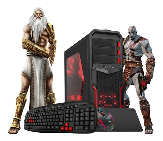 Pc Gamer Core I5 Turbo 3,4ghz 8gb Ssd240 Gt710 2gb Kit Gamer