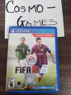 Fifa 15 Edicion Legacy Psvita Idioma Español En Cosmo-games