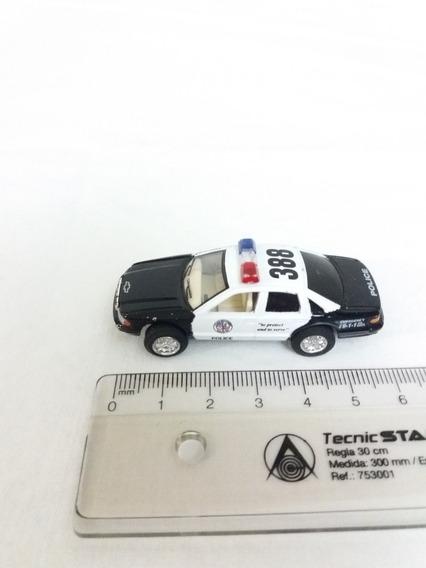 Carro Escala 1:86. Chevrolet Caprice Police. Kinsmart