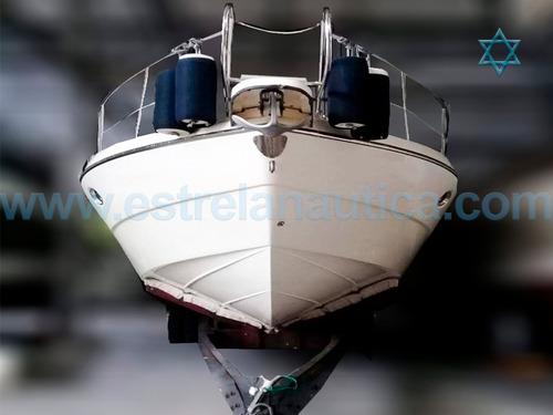 Imagem 1 de 13 de Lancha Cranchi 37 Iate Ferretti Axtor Carbrasmar Armada