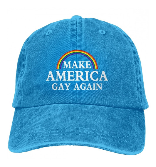 Make America Gay Again Chapéu De Beisebol