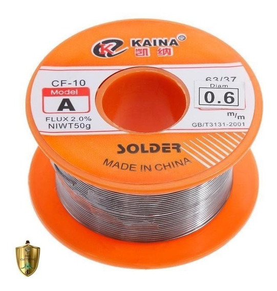 Solda Estanho 0.6mm63/37