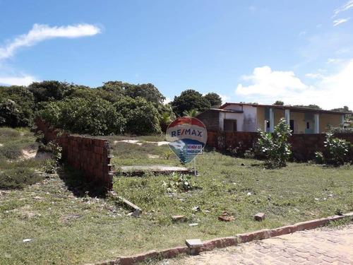 Terreno À Venda, 1120 M² Por R$ 50.000,00 - Barra De Tabatinga - Nísia Floresta/rn - Te0024