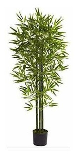Planta Artificial Bamboo De 185 Cm + Envio Gratis.