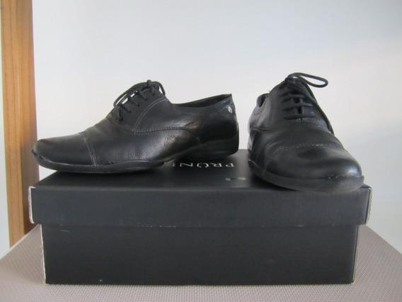 Zapatos Prune Classic De Cuero Con Cordones - Ind.arg