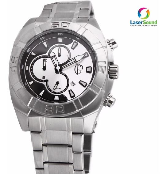 Relógio Technos Corinthians Coros10aa/3p C/ Garantia E Nf
