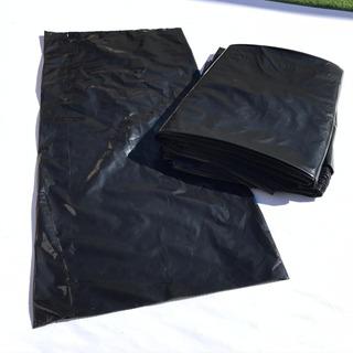 Saco Embalagem Preto 100unid 35x75cm Correio Mercado Envio