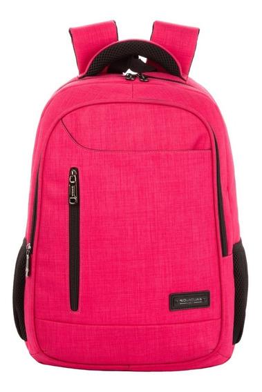 Mochila Reforzada Porta Notebook Quaglia Qs310 Escolar