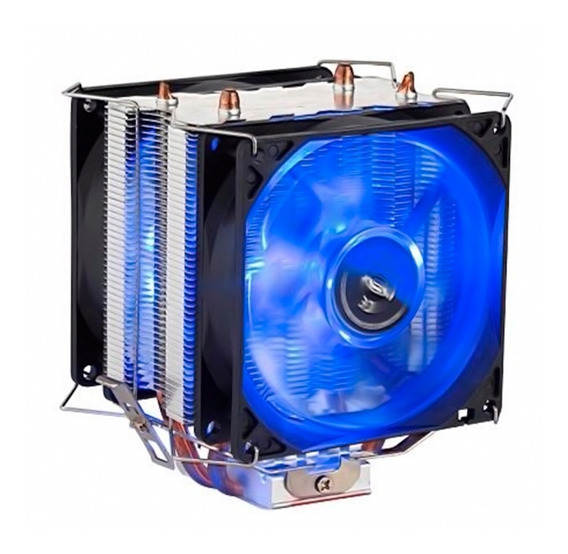 Cooler Duplo Dual Fan Pc Intel Amd 775 1151 1155 Am3 Am4