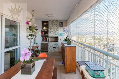 Cobertura Com 3 Dormitórios À Venda, 208 M² Por R$ 1.990.000,00 - Alto Do Ipiranga - São Paulo/sp - Co0131
