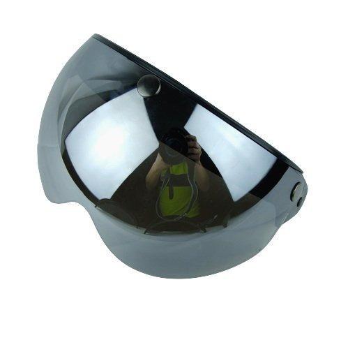 Torc T50 3 Snap 34 Casco De Escudo Con Bisagra Flip Silver