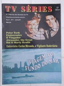 Revista Tv Séries Nº 1 Viagem Ao Fundo Do Mar - 1997