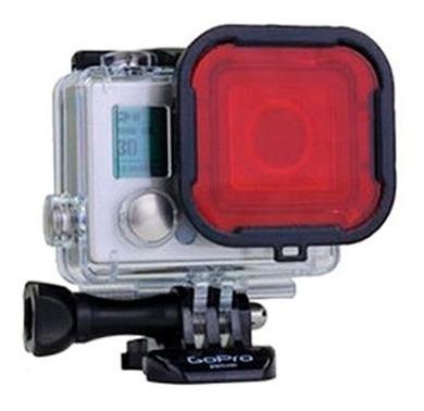 Filtro Gopro Hero 3+ 4 De Luz Mergulho Red Dive Go Pro