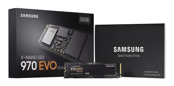 Ssd M2 Samsung 970 Evo 500gb M.2 Nvme 3400mbps Notebook Dell