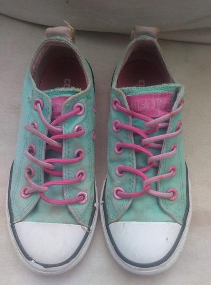 Zapatos De Niña Converse Originales