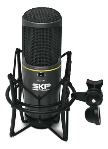 Micrófono Condensador Estudio Sks 420 Skp -  Envío Gratis