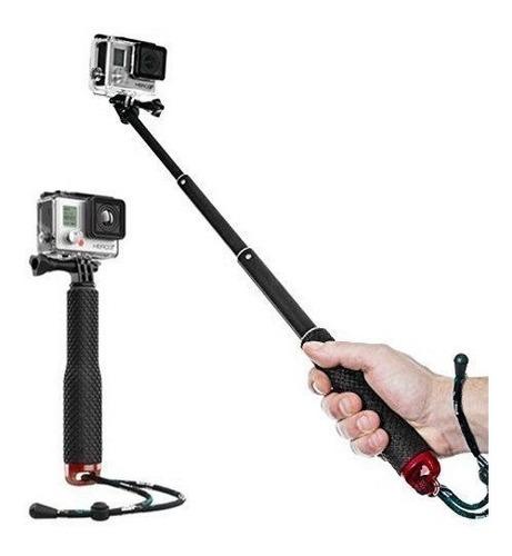 Imagen 1 de 6 de Monopod Camara Go Pro Bastón Selfie Stick Super Largo 94cm