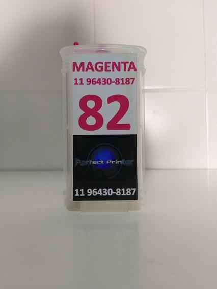 Cartucho Recarregavel Hp 500 800 Magenta