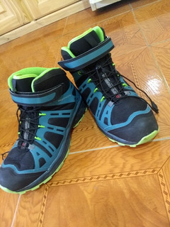 Zapatillas Botas Montagne Xd Speed Running Escalar