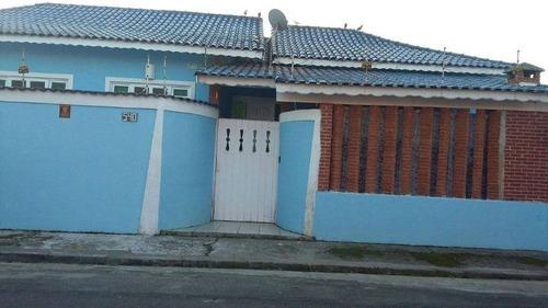 Imagem 1 de 24 de Casa Com 4 Dormitórios À Venda, 143 M² Por R$  - Estância Balneária Belmira Novaes - Peruíbe/sp - Ca8265