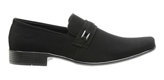 Sapato Social Com Cadarço Masculino Moderno Impacto - 1101e