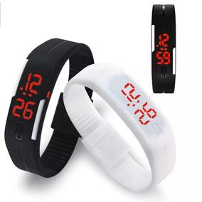 Relogio Digital De Pulso Bracelete Sport Em Led