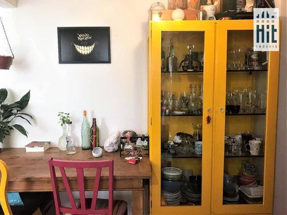 Apartamento À Venda, 45 M² Por R$ 420.000 - Indianópolis - São Paulo/sp - Ap1615