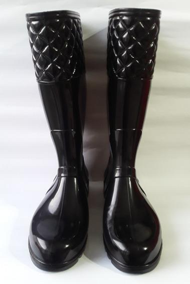 Botas De Lluvia Proforce De Mujer Negra (plantilla 23,5 Cm)