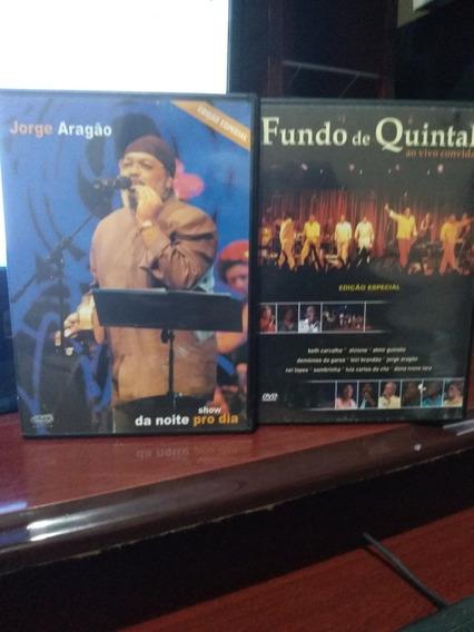 Dvd Jorge Aragao E Fundo De Quintal - Edicao Especial