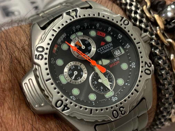 Citizen Aqualand Chronograph Titanium Calibre 3740 Japan