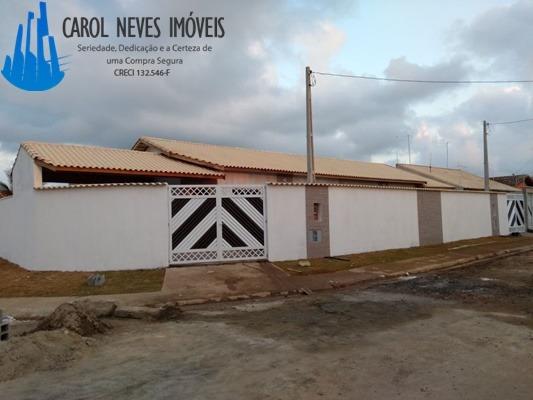 2892- Casa Nova Piscina Churrasqueira Parcelamento Direto