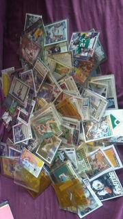 Cartas De Coleccion De Beisbol Y Futbol Americano