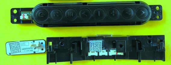 Sensor Remoto E Teclado Tv Lg 47la6610