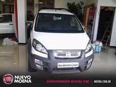 Fiat Idea Adventure 1.6 2017 Blanca 5 Puertas 0km