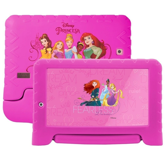 Tablet Multilaser Disney Princesas 8gb Wifi 7'' Rosa