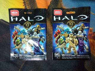 Halo Mega Construx Mystery Pack Serie 10 (gold Masterchief)