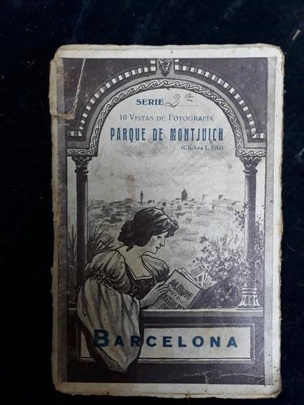 10 Postales Antiguas Fotograficas De Barcelona