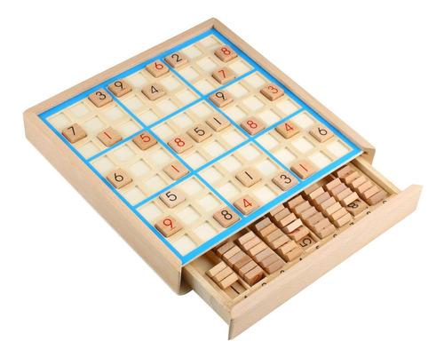 Pp Nest Sudoku De Madera Juegos De Mesa Número Rompecabez...