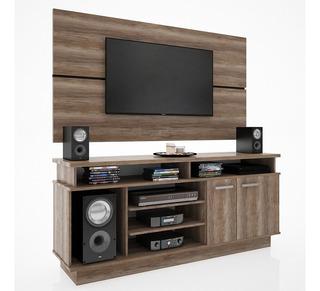 Rack Tv Modular Mueble Tv Led Centro Entretenimiento H/42