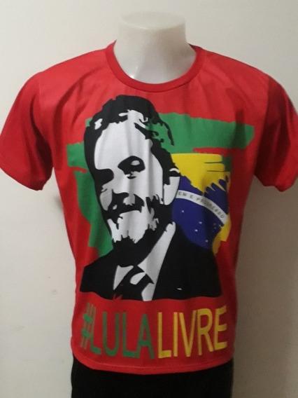 Camiseta Lula Livre