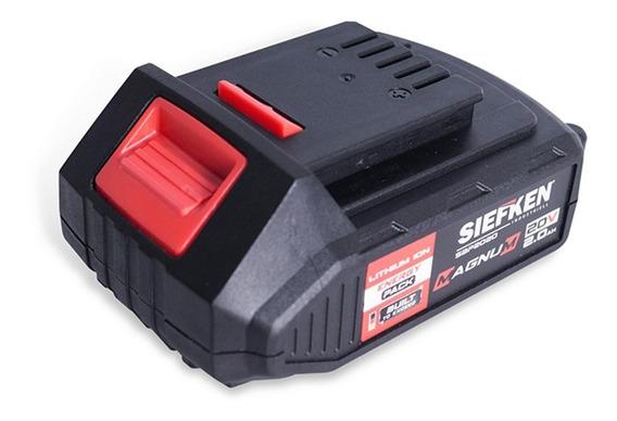 Batería Siefken Sbp2020 Ion De Litio De 20v. 2 Amperios Hora