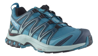 Zapatillas Mujer Salomon Trail Running Xa Pro 3d Impermeable
