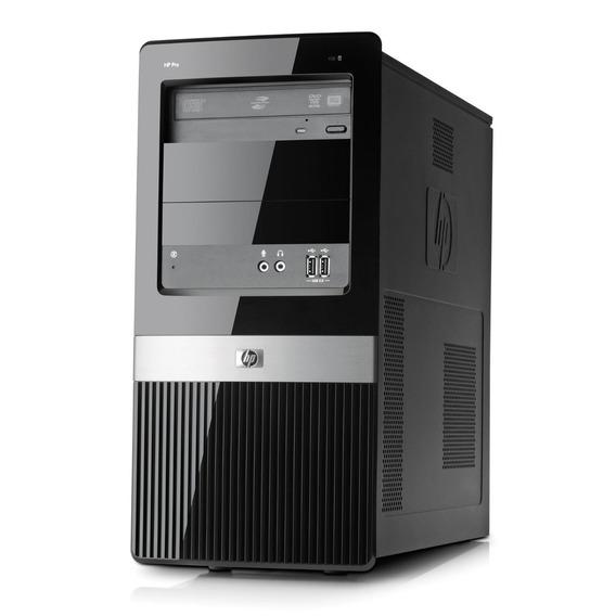 Computador Pc Hp Compaq Core2duo, 4gb Ram, 250gb Hd