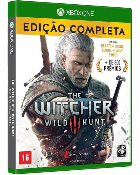 The Witcher 3 Xbox One Midia Fisica Novo Dublado Português