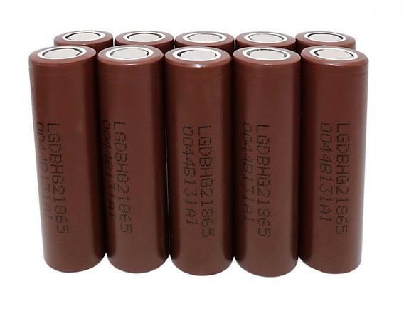 10 Pares Baterias Lg Hg2 18650 3000mah 20a Chocolate Vaper