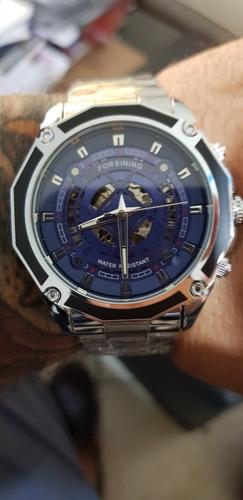 Relógio Automático Forsining Blue Dream