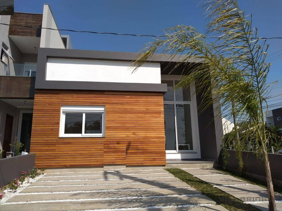 Villarinho Imóveis Vende Excelente Casa Nova Jardins Do Lago, Em Frente À Praça - Porto Alegre/rs - Ca0509