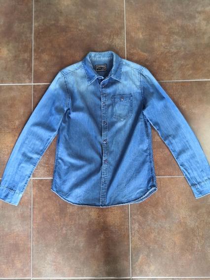 Camisa De Mezclilla Zara Para Niño